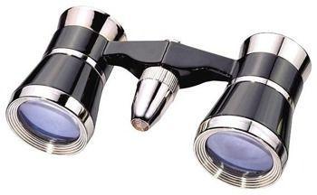 Bresser Skala 3x25 czarno-srebrna