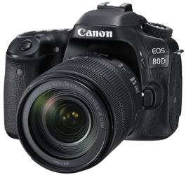 Canon EOS 80D 18-135 IS USM Nano - cashback 430 zł
