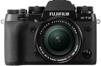 FujiFilm X-T2 + XF 18-55mm f/2,8-4 R LM OIS + karta SDHC 32GB