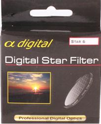 King Filtr gwiazdkowy x6 Alpha Digital 52mm