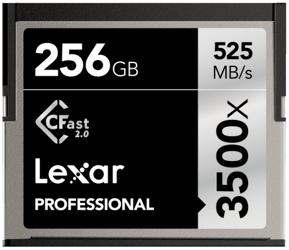 Lexar CF 256GB x3500 Professional