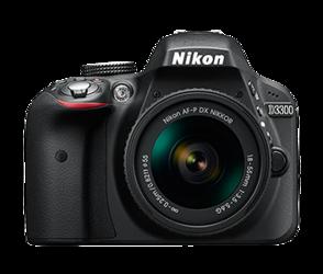 Nikon D3300 + AF-S 18-55 VR