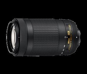 Nikon Nikkor AF-P DX 70-300mm F/4.5-6.3G ED VR + Hoya UV Fusion