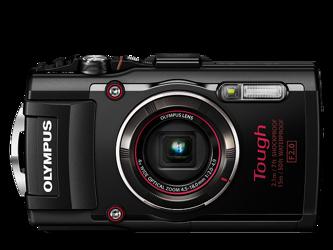 Olympus TG-4 Czarny + karta pamięci + pasek pływający CHS-09