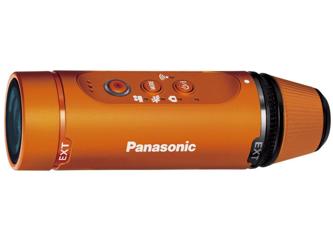 Panasonic HX-A1M pomarańczowa
