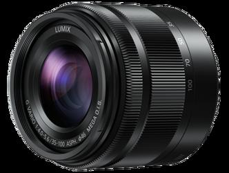 Panasonic LUMIX G VARIO 35-100 mm F4.0-5.6 ASPH. MEGA O.I.S. czarny