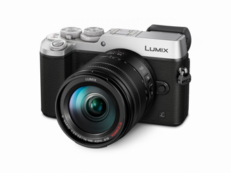 Panasonic Lumix DMC-GX8 + ob. 14-140 POWER O.I.S. srebrny