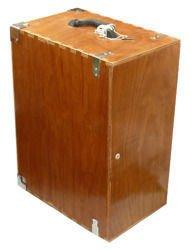 Skrzynka drewniana do mikroskopu BioStage