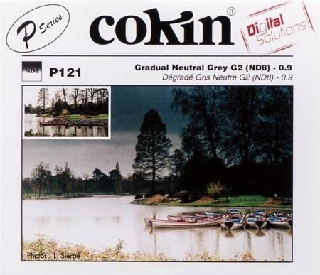 COKIN P121 połówkowy szary ND8 z twardym przejściem koloru
