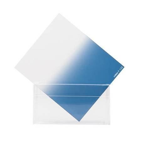 COKIN P123 niebieski połówkowy z twardym przejściem koloru