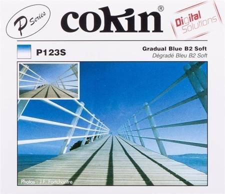 COKIN P123S niebieski połówkowy