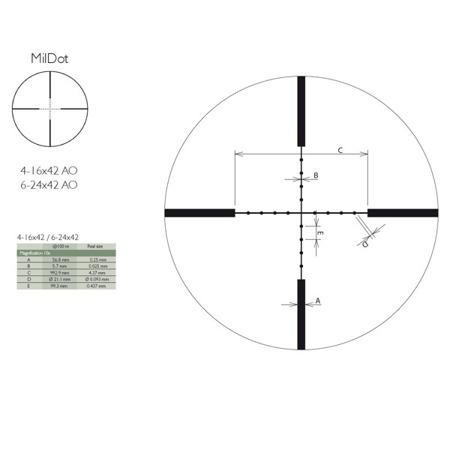 Delta Optical Titanium 4-16x42 AO MD