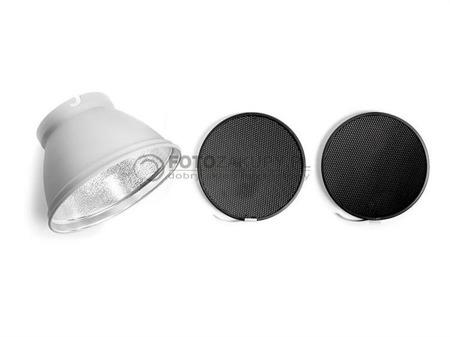 ELINCHROM plastry miodu 30'20' + reflektor 21cm