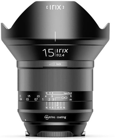 Irix IL-15BS-NF 15mm f/2.4 Blackstone do Nikon