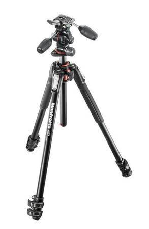 Manfrotto 190XPRO3 z głowicą X-PRO 3-Way