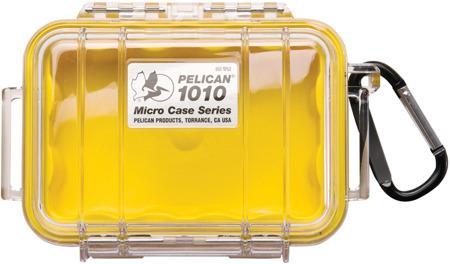 Peli 1010 - przeźroczysta z żółtą wkładką