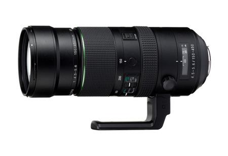 Pentax HD D FA 150-450mm F4.5-5.6 ED DC AW