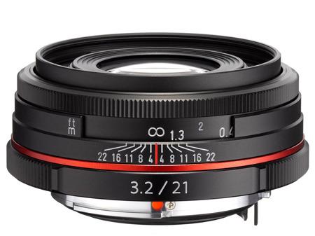 Pentax HD DA 21 mm f/3.2 AL Limited czarny