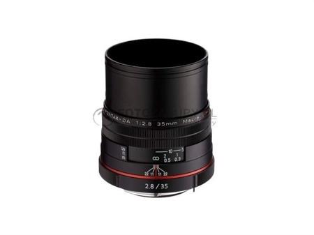 Pentax HD DA 35mm F2.8 Macro Limited - czarny