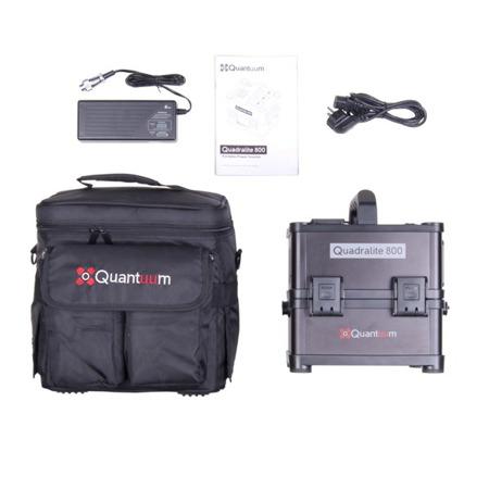 Quantuum Quadralite 800 Powerpack
