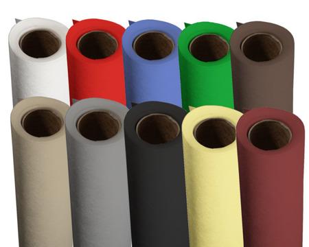 Tło fotograficzne polipropylenowe 1,6m x 5m szare